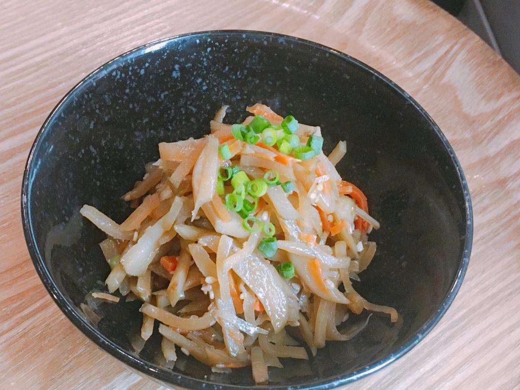 世界三大健康野菜 菊芋のきんぴら
